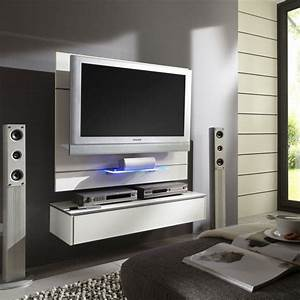 Meuble Tv Mural : meuble tv led atylia achat meuble tv mural design orion atylia prix promo atylia ttc ~ Teatrodelosmanantiales.com Idées de Décoration