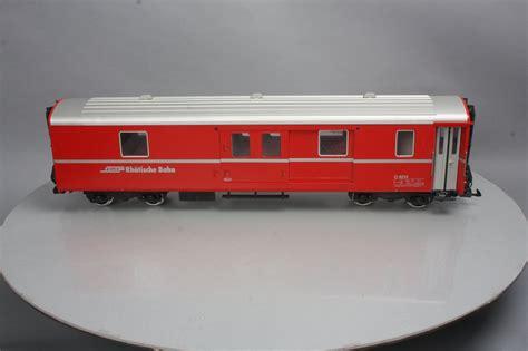 Lgb 34670 Rhb 1st Class Passenger Car  Metal Wheels Ebay