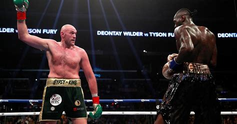 Deontay Wilder vs Tyson Fury Fight