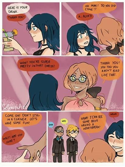 Prom Night Marinette Miraculous Ladybug Alya Memes