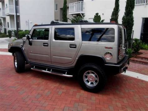 security system 2004 hummer h2 security system find used 2004 hummer h2 in 211 n meridian street ta florida united states for us 23 550 00