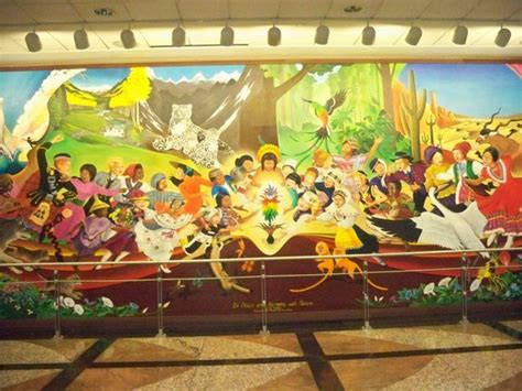 Denver International Airport Murals Removed by 100 Denver International Airport Murals Removed