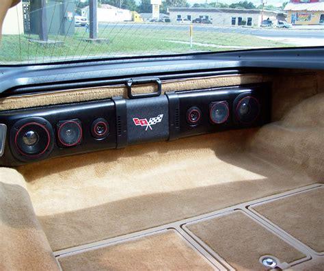 installation of air conditioning 1963 1982 corvette rear speaker 200w sound bar