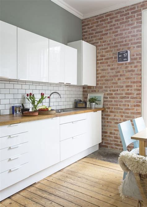 kitchen white brick tiles 54 eye catching rooms with exposed brick walls loombrand 6474