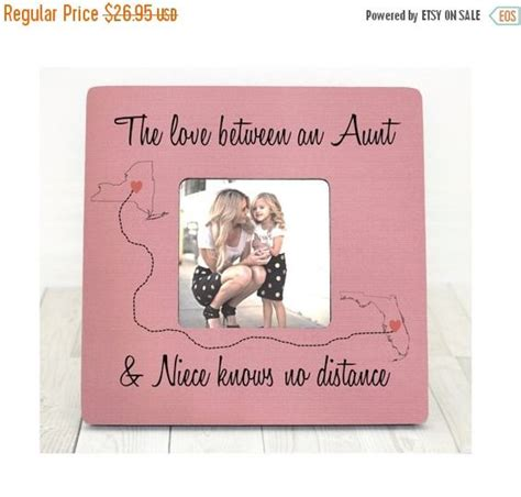 auntie gifts personalized picture frames and aunt on
