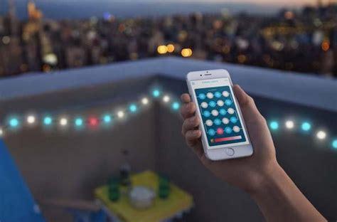 app controlled led lights kaleido app controlled multicolor led string lights
