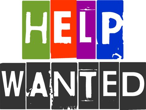 help wanted help wanted join us earn eat save stretch