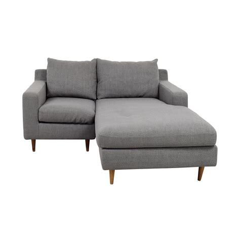 Chaise Interiors by 80 Interior Define Interior Define Custom Grey