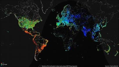 Internet Map Usage Maps Access