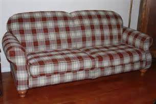 plaid sofa 125 broyhill sofa country plaid for sale in hill florida classified