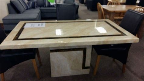 marble effect dining table for sale in ballincollig cork