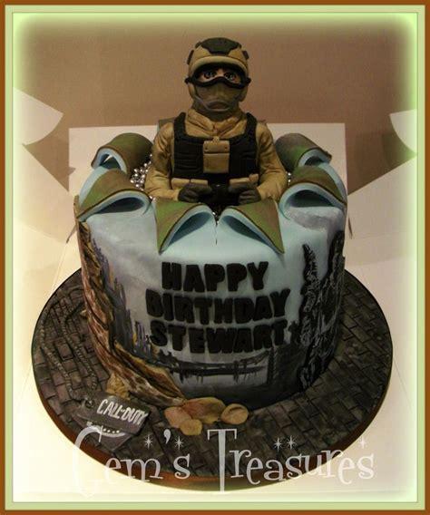 Call Of Duty Zombies Cake Callofdutycakeby