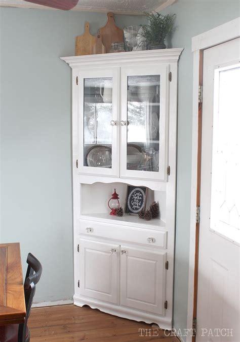 corner hutch cabinet for dining room best 25 corner china cabinets ideas on corner