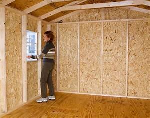 Cypress 12x10 Wood Storage Shed Kit - ALL Pre-Cut