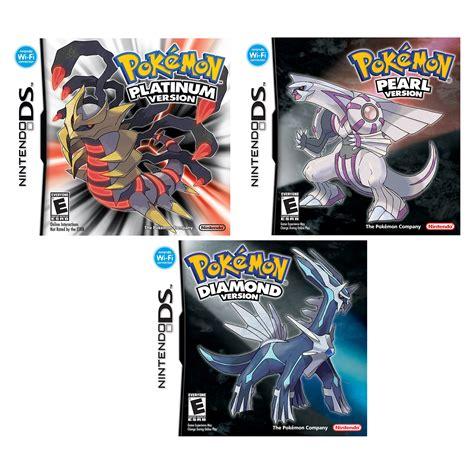 Nintendo Ds Pokemon Platinum Diamond And Pearl Version