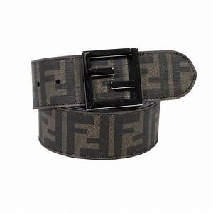 Fendi Belt in Brown for Men | Lyst