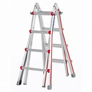 Echelle Pour Escalier : echelle t lescopique telestep 4 plans echelles pliables ~ Melissatoandfro.com Idées de Décoration