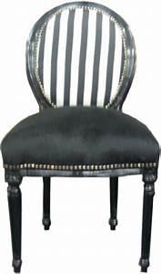 Amazon Stühle Günstig : barock esszimmer stuhl schwarz streifen ludwig xiv stuhl ~ Sanjose-hotels-ca.com Haus und Dekorationen