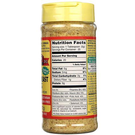 nutritional yeast evitamins com bragg premium nutritional yeast seasoning 4 5 oz