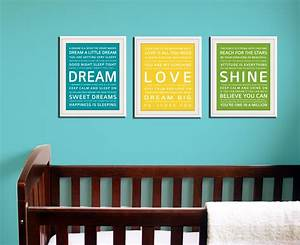 Nursery wall art quotes nursery wall art for nursery room for Wall art quotes