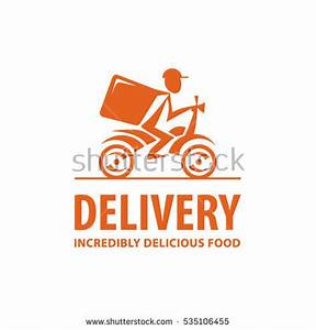 Fast Free Delivery Vector Cartoon Illustration Stock ...