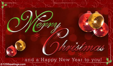 christmas and new year wishes free business greetings ecards 123 greetings