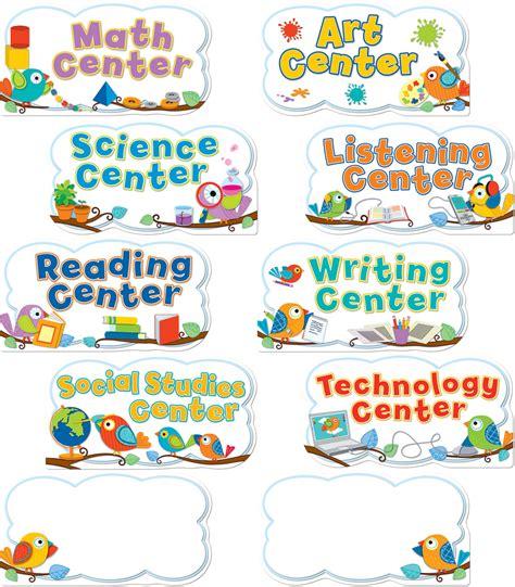 boho birds center signs mini bulletin board set 341 | 110262