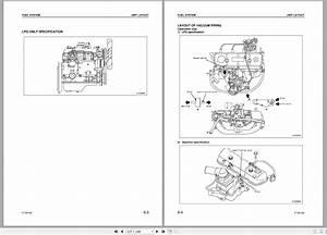 Komatsu Forklift Diesel Engine K15  K21  K25