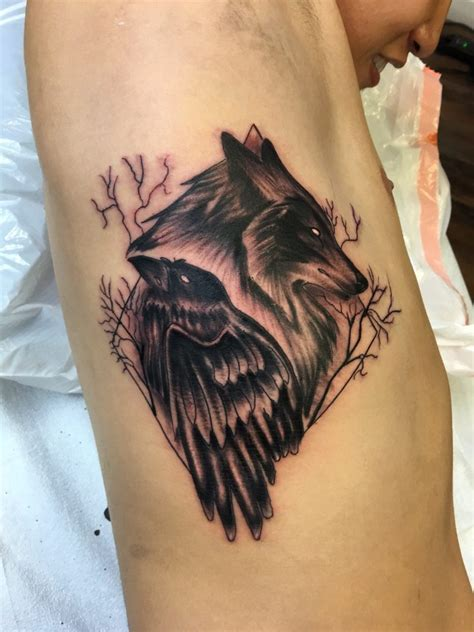 wolfraven tattoo  long quoc nguyen yelp