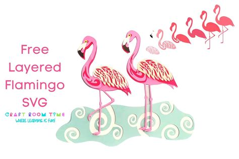 Our cut files comes with svg, dxf, png & eps files, and they are compatible with cricut, cameo silhouette studio and other. Free Layered Flamingo SVG | Craft Room Time