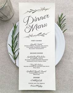25+ best ideas about Printed Wedding Menus on Pinterest ...