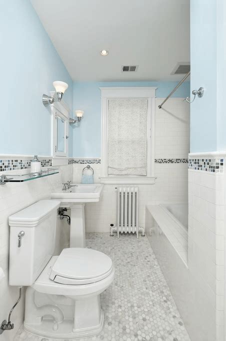 bathroom tile ideas to inspire you freshome - Glass Tile Bathroom Ideas