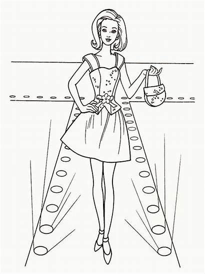 Coloring Pages Printable Barbie Sheets Atom Mannequin
