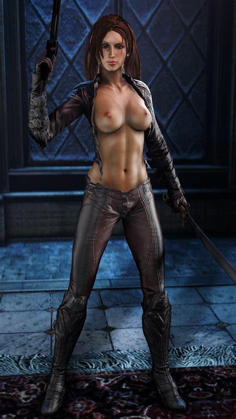 Talia Al Ghul Nude