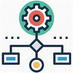 Icon Procedure Workflow Process Icons Organization Network