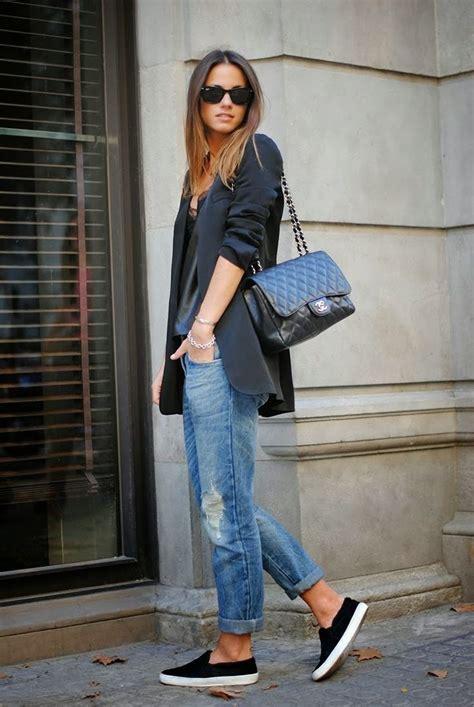 boyfriend jeans fashion  wow style