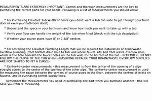 Guide To Clawfoot Plumbing  With Images