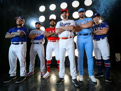 Texas Rangers new uniforms for the 2020 season boast a pop ...