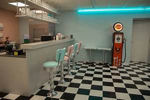 Cuisine Style Année 50 : carrelage style am ricain vintage d coration us 50 39 s et 60 39 s ~ Premium-room.com Idées de Décoration