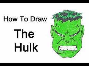 How to Draw The Hulk - YouTube