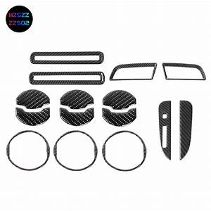 15PCS Interior Accessories Decor Trim Kits for Ford Mustang 2015 2016 2017 2018 2019 | Shopee ...