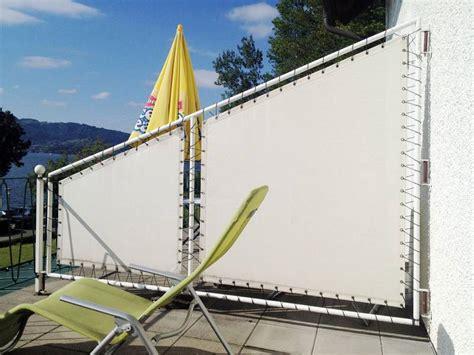 Balkon Sichtschutz Stoff by Sunnysail Sichtschutz