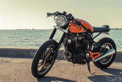 Caferacer, Motorcycle, Yamaha, Xv500, Vintage Hd