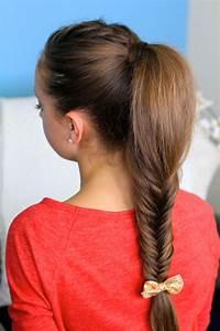 Fluffy Fishtail Braid Hairstyles For Long Hair Cute