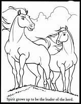 Horse Coloring Herd Pages Wild Getdrawings Spirit sketch template