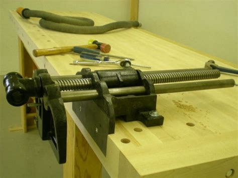 day bench build blog  day  final assembly vise