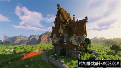 medium medieval house map  minecraft   pc java mods
