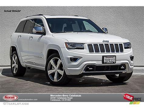 white jeep grand cherokee 2014 bright white jeep grand cherokee overland 104439688