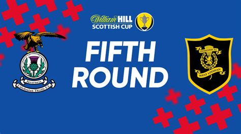 Scottish Cup Fifth Round Draw - ICTFC