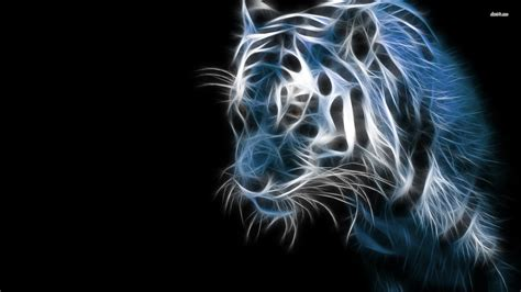 Digital Tiger Wallpaper by Your Wallpapers Page 182